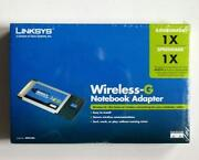 Linksys Wireless G Notebook Adapter