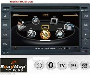 nissan sat nav ebay. Black Bedroom Furniture Sets. Home Design Ideas