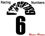Number Decals