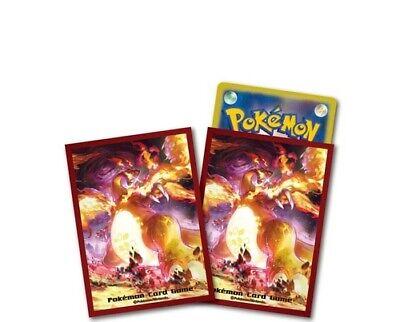 Pokemon Card Deck Shield 64 Sleeve Kyodai Max Charizard design Japanese