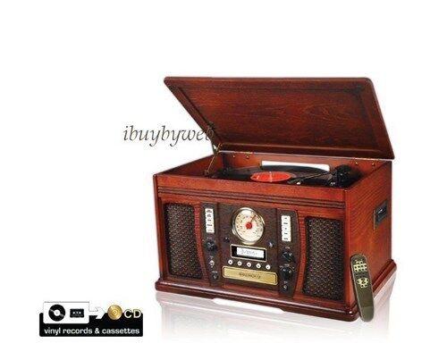 The Aviator 5 In 1 Turntable Cassette Lp To Cd Burner