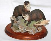 Border Fine Arts Otters