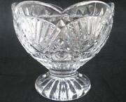 Crystal Scalloped Bowl