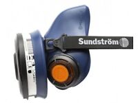 Sundstrom SR 100 Silicone Half Face Mask Medium / Large & P3 Filter BNIB