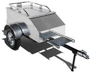 Motorcycle Pull Behind Cargo Trailer