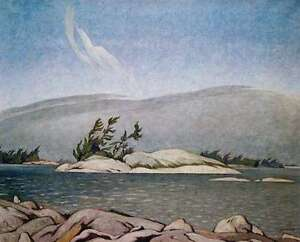 """Limited Edition """"In the Islands Georgian Bay"""" by A.J. Casson"""