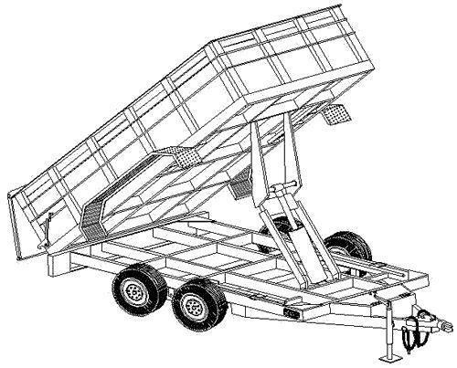trailer blueprints