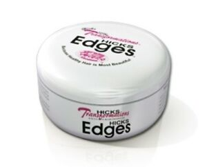 HICKS Edges Hair Gel Edge Control Pomade Total Transformations Hair Products