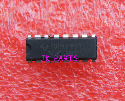 20pcs Sn74hc595n Sn74hc595 74hc595 8 Bit Shift Register Dip-16 Ti