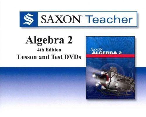 HOUGHTON MIFFLIN Saxon Math Teacher Algebra 2 Lesson & Te...