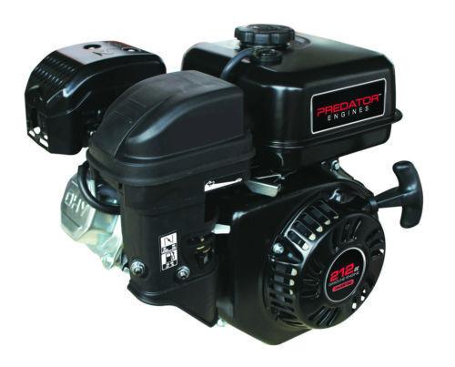 NEW 6.5 HP  OHV Horizontal Shaft Gas Engine  pumps minibike