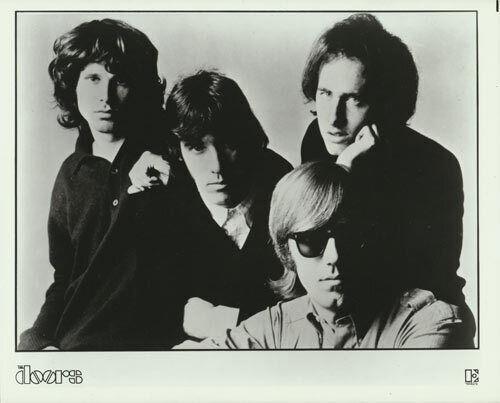 Doors/Jim Morrison VTG B/W Promo 8x10 Photograph Publicity Rock Print Elektra B
