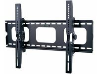 "TILT TV WALL BRACKET MOUNT PLASMA LED LCD 3D 32 34 37 40 42 46 48 50 55""+60 AND 65 INCH"