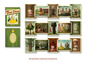 MARK RYDEN FIRST EDITION PRINTING THE TREE SHOW MICRO PORTFOLIO #5 LOWBROW ART