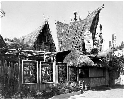 1963 Disneyland Tiki Room Photo 8x10 - Disney Buy Any 2 Get 1 Free