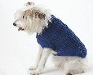 DOG COAT KNITTING PATTERN -SIMPLE RIB PATTERN SIZE SMALL TO XL