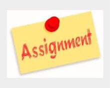 Help: Assignment help ( management, social work) Mawson Lakes Salisbury Area Preview