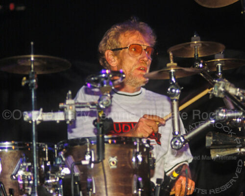 GINGER BAKER PHOTO 8x10 Concert Photo by Marty Temme Ludwig Drums