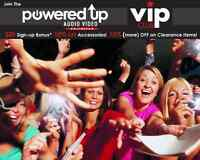 Free $20.00 Powered Up Gift Certificate For Everyone!