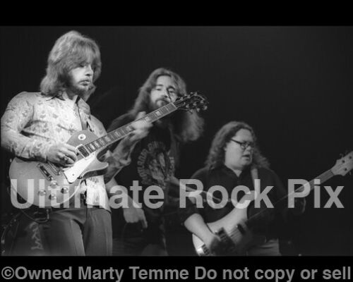 ATLANTA RHYTHM SECTION Black and White 8x10 Concert Photo1978 by Marty Temme