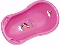 Disney Baby Minnie Mouse Bath Tub for Newborns