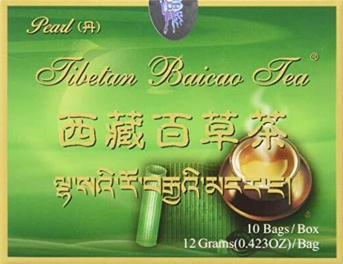 Tibetan Baicao Tea - PEARL Form, 100% Authentic PRIORITY MAIL - ATHI DISTRIBUTOR
