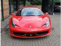 """Ferrari 458 """"F458"""" Number Plate"""