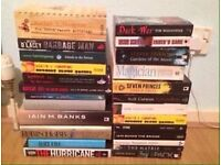 25+ Books For £10
