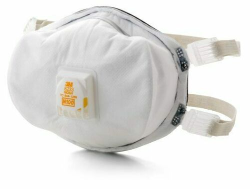 3M 8233 N100 Particulate Respirator, 1 Individual Mask