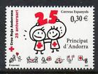 Red Cross Andorran Stamps