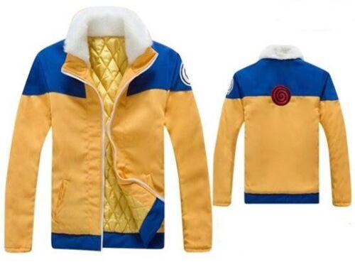 Naruto Uzumaki Coat Jacket Cosplay hoodie Ninja Anime FAST SHIPPED from USA