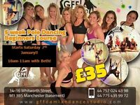 5 Week Beginners Pole Dancing Course in Central Manchester - now only £35!