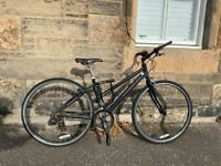 Second hand Dawes hybrid bicycle