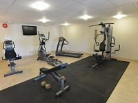 2 bdrm with fitness room in building - FIRST MONTH FREE!!!