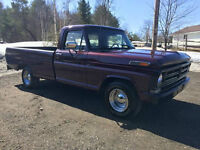 """RESTORED 1972 FORD F-100 SPORT 350HP """"3 ON THE TREE"""""""