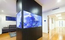 Aquarium - Complete built in 2000l marine tank Southern River Gosnells Area Preview