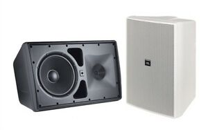 1 BRAND NEW JBL CONTROL 30 INDOOR/OUTDOOR SPEAKER IN WHITE