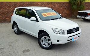 2007 Toyota RAV4 ACA33R CV White 4 Speed Automatic Wagon Upper Ferntree Gully Knox Area Preview