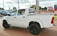 2012 Toyota Hilux KUN26R MY12 SR Double Cab White 5 Speed Manual Utility Gosnells Gosnells Area Preview