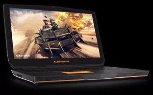 Alienware i7 6820HK 4GHZ + 16GB + ssd 950 pro+ GTX 1070++