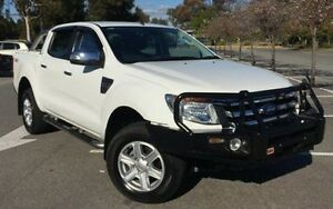 2014 Ford Ranger PX XLT Double Cab White 6 Speed Sports Automatic Utility Ingle Farm Salisbury Area Preview