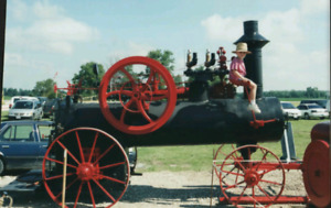 Steam Engine 1898 George White portable
