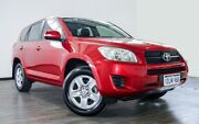 2010 Toyota RAV4 ACA38R MY09 CV 4x2 Red 5 Speed Manual Wagon Myaree Melville Area Preview