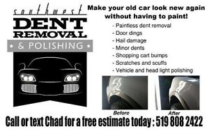 Paintless Dent Removal and Repair