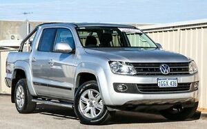 2014 Volkswagen Amarok 2H MY14 TDI420 4Motion Perm Highline Silver 8 Speed Automatic Utility Wangara Wanneroo Area Preview
