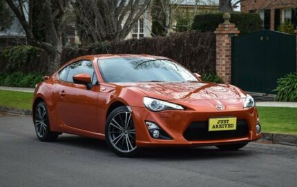 2013 Toyota 86 ZN6 GTS Velocity Orange 6 Speed Manual Coupe Medindie Walkerville Area Preview