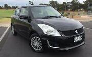 2014 Suzuki Swift FZ MY14 GL Black 4 Speed Automatic Hatchback Ingle Farm Salisbury Area Preview