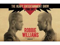 2 x Robbie Williams Tickets - Seated - London - Friday 23/6/17