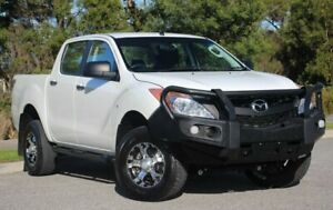 2014 Mazda BT-50 UP0YF1 XT White 6 Speed Sports Automatic Utility Officer Cardinia Area Preview