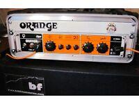 ORANGE OB1-500 Pro. Bass Amp head 500 watts --Excellent condition